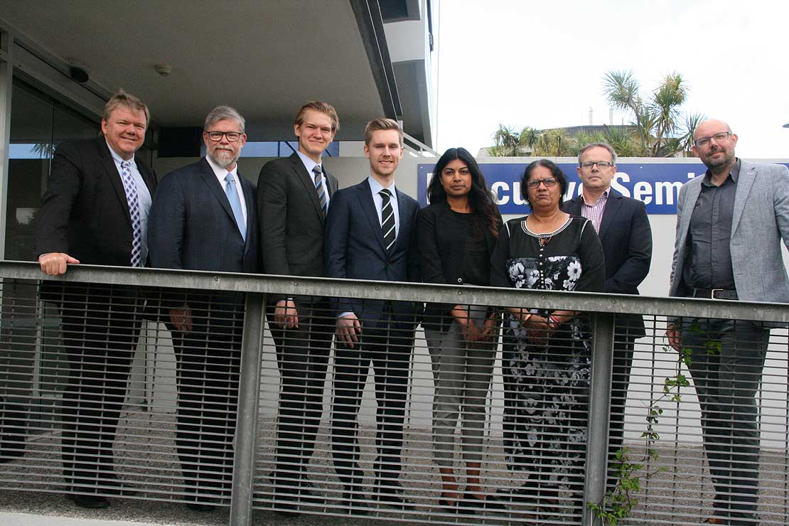 Danish economists consult with Massey property team